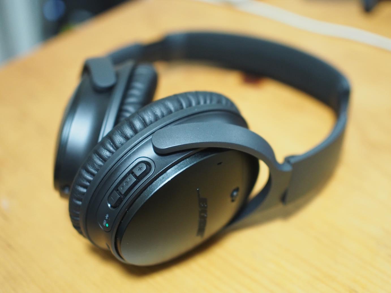 BOSE Q35 |飛行機のジェット音が、、、快適すぎるノイズキャンセリング!